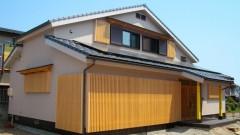 「土間」をそなえた和風デザイン住宅